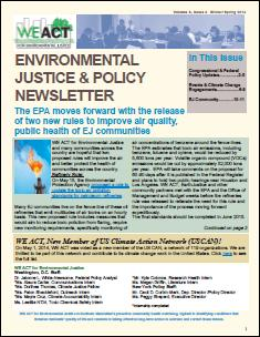 EJ and Policy Newsletter - Volume 3 Issue 4 (Winter/Spring 2014)